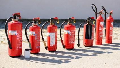 Equipos de Protección Contra Incendios (Extintores)
