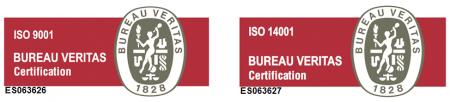 Certificado ISO 9001 y 14001