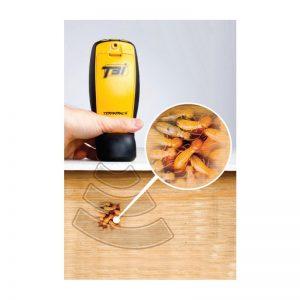 Diagnosis de presencia de termitas en madera, ladrillo hormigón, etc.